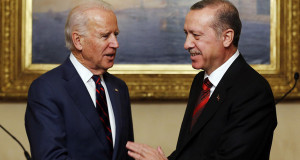 U.S. VP Biden meets with Turkey's President Erdogan in Istanbul